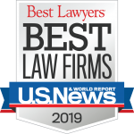 Best Lawyers Best Law Firms for 2019 badge